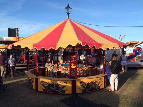 Fairground Round Stall (For Hire Only)